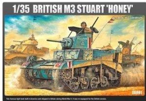 Academy 13270 BRITISH M3 STUART HONEY 1/35