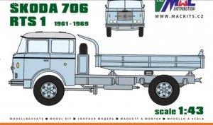 MAC RES43102 Škoda 706 RTS 1 1/43