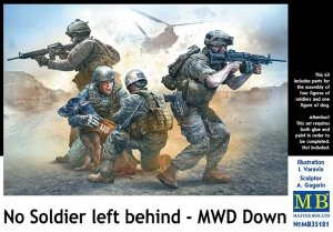 Master Box 35181 No Soldier left behind - MWD Down