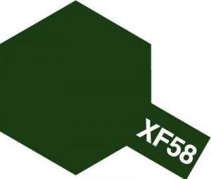 Tamiya XF58 Olive Green (81758) Acrylic paint