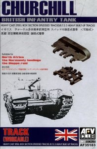 AFV Club 35183 WORKABLE Track for Churchill (Early Version) 1/35