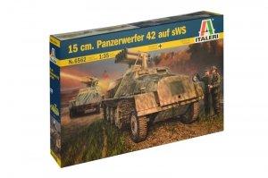 Italeri 6562 15 cm. Panzerwerfer 42 auf sWS 1/35