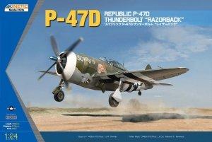Kinetic K3208 Republic P-47D Thunderbolt Razorback (1:24)