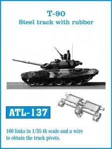 Friulmodel 1:35 ATL-137 T-90 Steel track with rubber