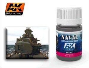 AK Interactive AK 302 Wash For Grey Decks