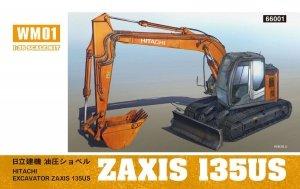Hasegawa WM01 Hitachi Excavator Z Axis 135 US (1:35)