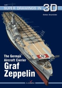 Kagero 16045 The German Aircraft Carrier Graf Zeppelin EN