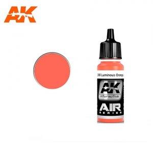 AK Interactive AK 2171 RAL 2005 LUMINOUS ORANGE (LEUCHTORANGE) 17ml