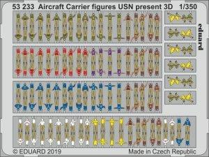 Eduard 53233 Aircraft Carrier figures USN present 3D 1/350