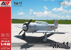 A&A Models 4801 Yak-11 Military Trainer 1/48