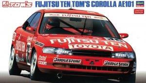 Hasegawa 20302 Fujitsu Ten Tom's Corolla AE101 Limited Edition (1:24)