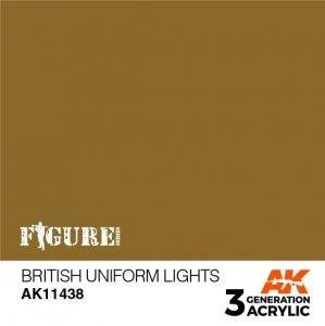 AK-Interactive AK 11438 British Uniform Lights17ml