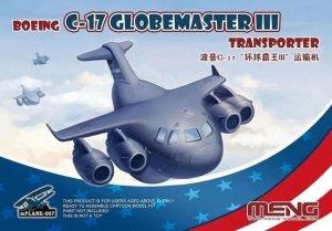 Meng Model mPLANE-007 Boeing C-17 Globmaster III Transporter