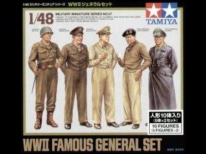 Tamiya 32557 WWII Famous General Set (1:48)