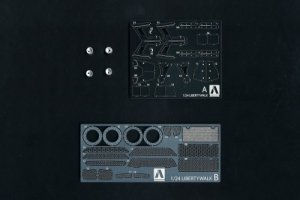 Aoshima 05678 LB WORKS R35 GT-R DETAIL UP PARTS 1/24