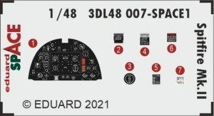 Eduard 3DL48007 Spitfire Mk.II SPACE 1/48