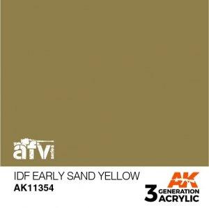 AK-Interactive AK 11354 IDF Early Sand Yellow 17ml