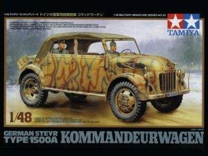 Tamiya 32553 Steyer Type 1500A Kommandeurwagen (1:48)