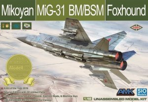 SIO Models K48001 Mikoyan MiG-31 BM/BSM Foxhound 1/48