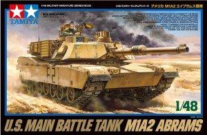 Tamiya 32592 U.S. MAIN BATTLE TANK M1A2 ABRAMS (1:48)