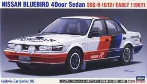 Hasegawa HC35 Nissan Bluebird 4Door Sedan SSS-R (U12) Early (1987) 1/24
