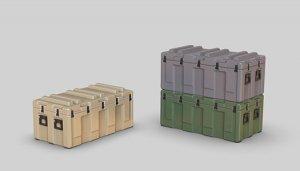 Eureka XXL E-068 Modern US Army PELICAN MM24 Mobile Master Pallet Ready Case 1/35