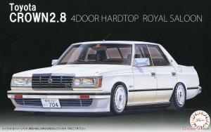 Fujimi 039992 ID-270 Toyota Crown 2.8 4-Door HT Royal Saloon '79 (MS110) 1/24