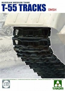 Takom 2092 Russian Medium Tank T-55 Tracks OMSH 1/35