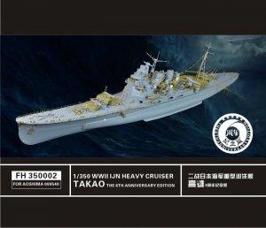 Flyhawk FH350002 WWII IJN Heavy Cruiser Takao 1/350