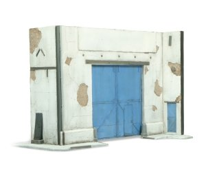 Vallejo SC118 Scenics Factory gate 10x17 cm 1/72