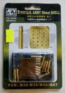 AFV Club 35111 US Army 90mm Shell Set 1/35
