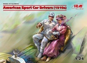 ICM 24014 American Sport Car Drivers (1910s) 1/24