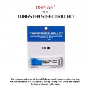 DSPIAE DB-01 1.0mm Tungsten Steel Drill Bit / Wiertło ze stali wolframowej