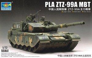 Trumpeter 07171 PLA ZTZ-99A MBT 1/72