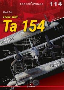 Kagero 7114 Focke-Wulf Ta 154 EN/PL