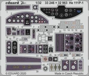 Eduard 32963 He 111P-1 REVELL 1/32