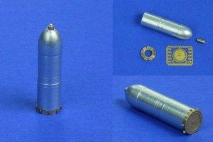 RB Model 48P32 Pocisk rakietowy 38cm Sturmtiger 3 sztuki (1:48)