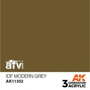 AK-Interactive AK 11352 IDF Modern Grey 17ml