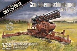 Das Werk DW35005 2cm Salvenmaschinenkanone SMK 18 - Typ 21/35