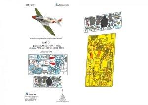 Microdesign MD 048024 MiG-3 detail set ICM 1/48