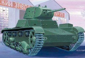 Mirage Hobby 72613 T-26C light tank with applique armour (1:72)