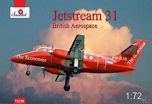 A-Model 72238 Jetstream 31 British Aerospace 1:72
