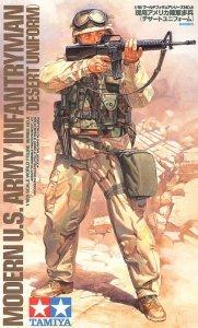 Tamiya 36308 Modern US Army Infantryman (1:16)