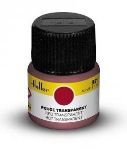 Heller 9321 321 Red Transparent 12ml