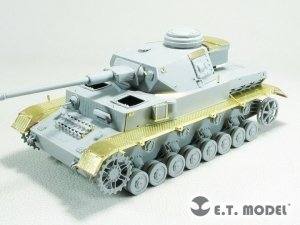 E.T. Model EA35-126 WWII German Pz.Kpfw.IV Ausf.H Fender (Mid Production) For DRAGON 1/35