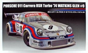 Fujimi 126494 Porsche 911 Carrera RSR Turbo Watkins Glen 1974 #9 1/24