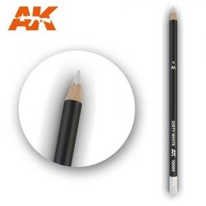 AK Interactive AK 10005 Watercolor Pencil DIRTY WHITE