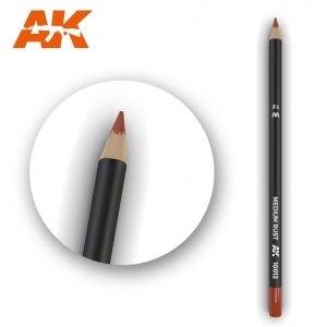 AK Interactive AK 10012 Watercolor Pencil MEDIUM RUST