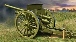 ACE 72252 Soviet 76.2mm (3 inch) gun model 1902/1930 (with limber) (1:72)