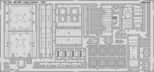 Eduard 481057 Mi-24P cargo interior ZVEZDA 1/48